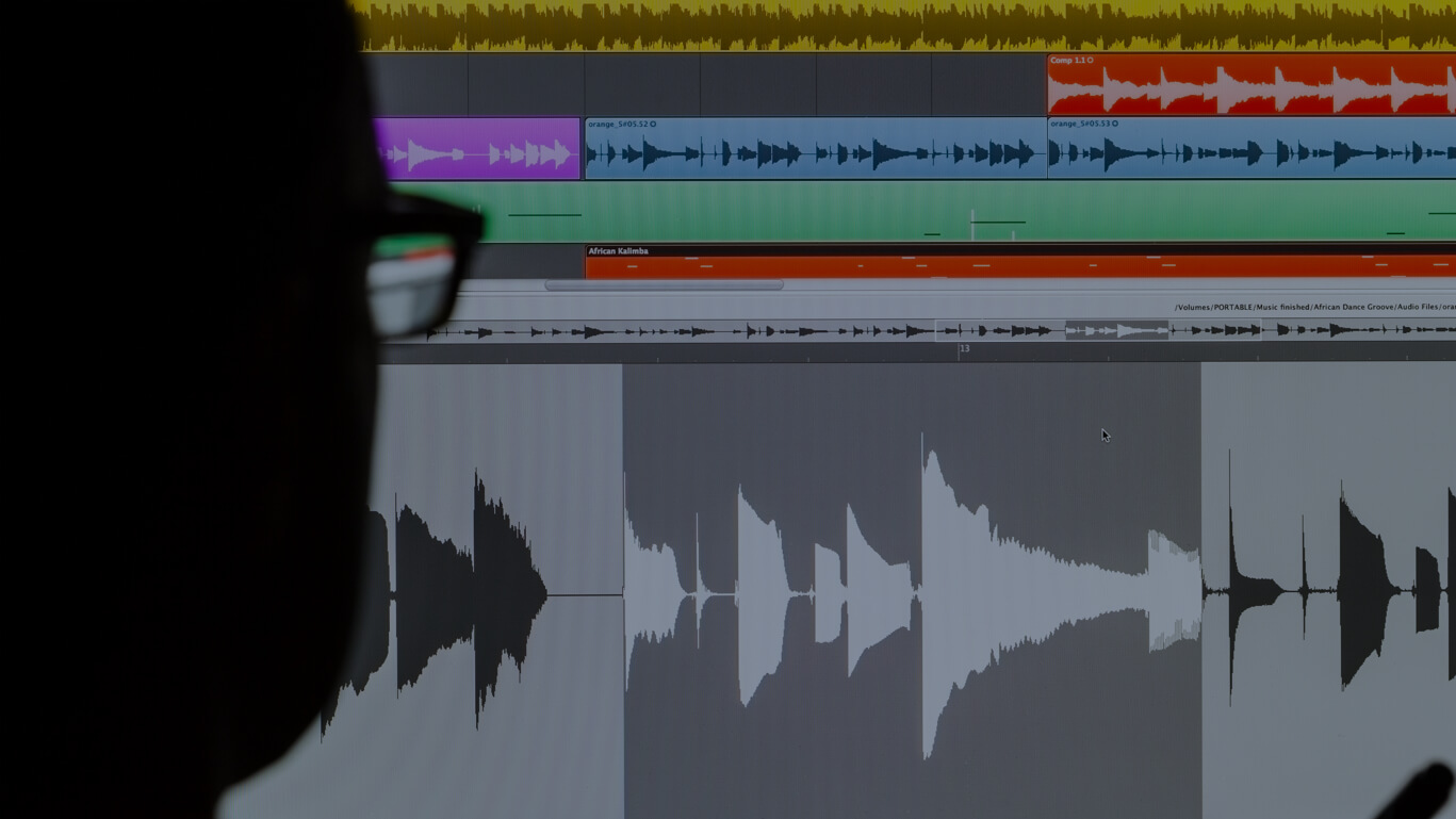 Audio Dubbing Background