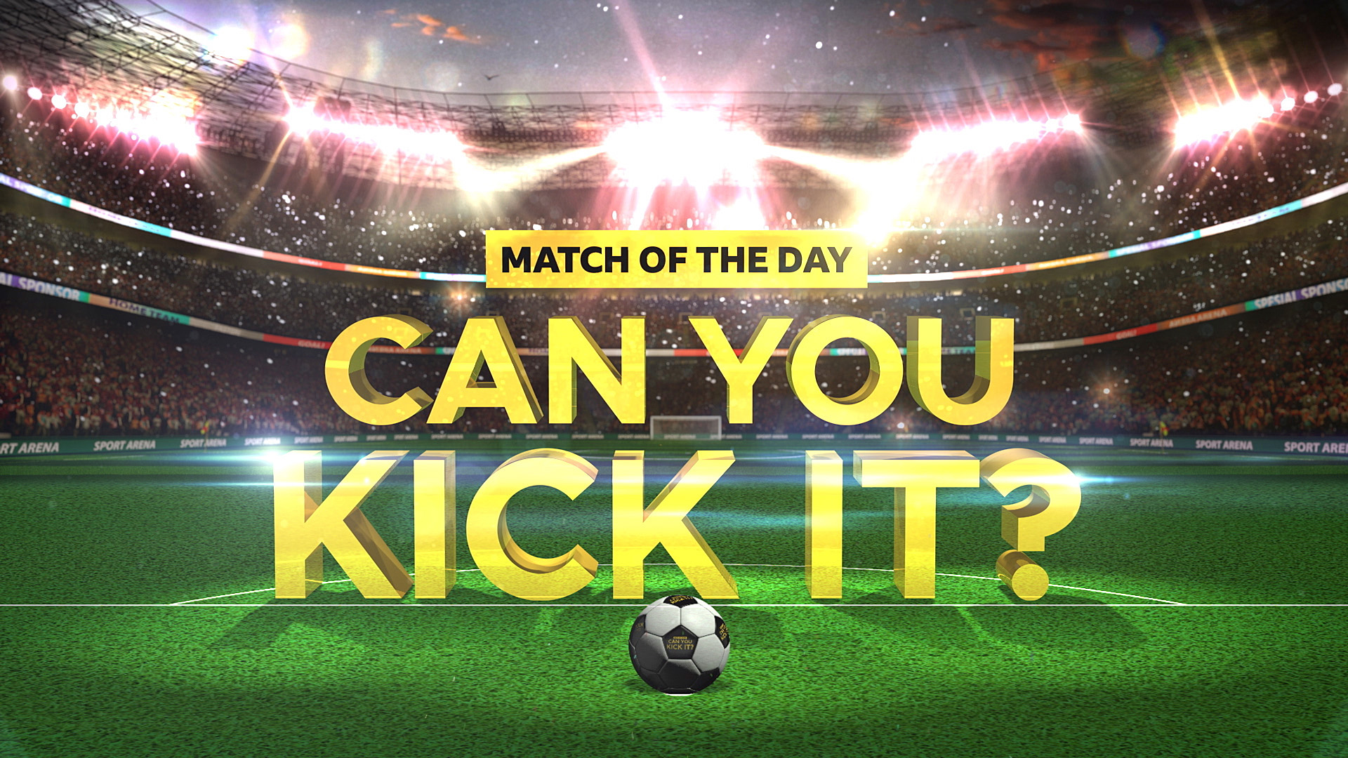 BBC Match of the Day: Can You Kick It?